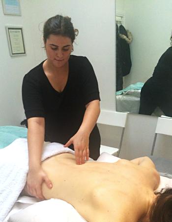 Natalie Touloumbadjain, Massage Therapist
