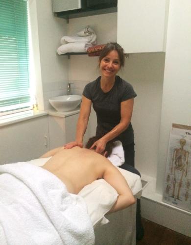 Panilla Marrot, Yoga teacher and Massage therapist